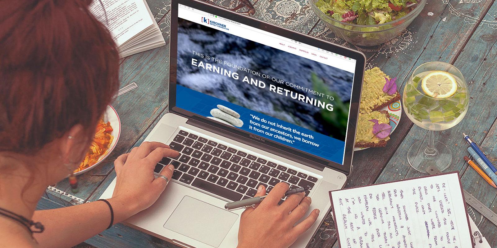 Kirchner Impact Foundation Website Redesign